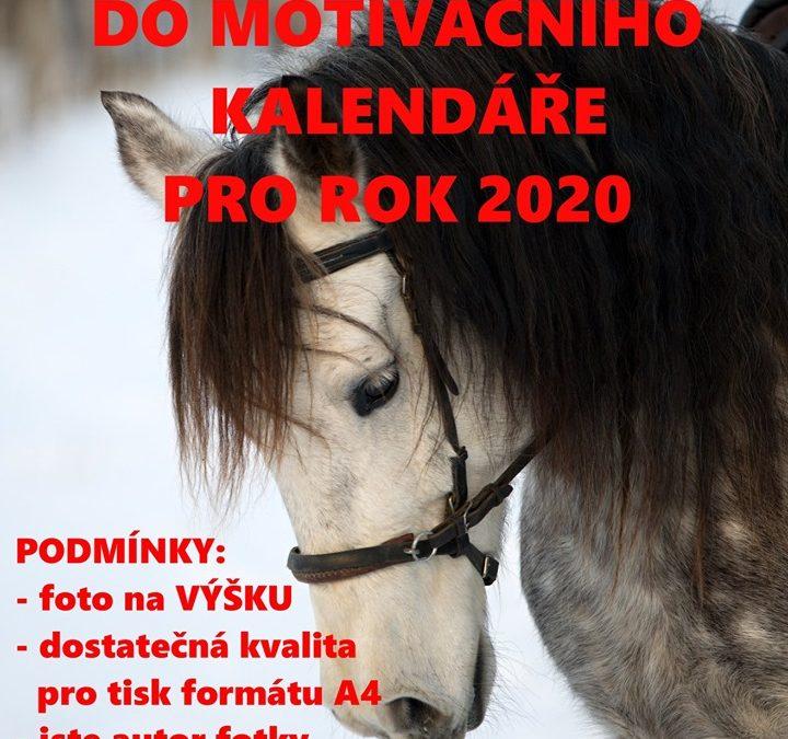 Hledáme fotky do Motivačního kalendáře pro rok 2020!