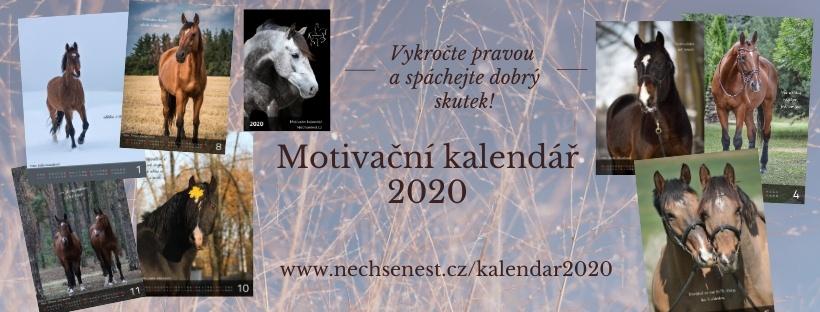 Motivační kalendář 2020 – pomáháme už 3. rokem